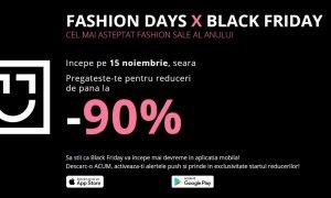 Black Friday 2018 la Fashion Days: idei pentru shopping