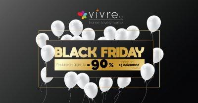 Black Friday la Vivre - reduceri de până la 90% la toate categoriile