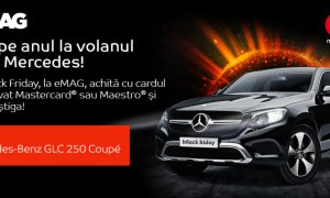 Black Friday la eMAG - plătești cu Mastercard și câștigi un Mercedes