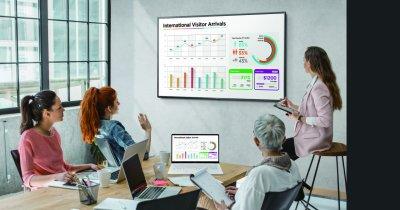 Display-ul pe care business-urile și promoțiile se văd Ultra HD
