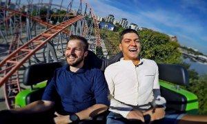 Interviu în roller coaster: Cum schimbă lumea Alex Burghelia