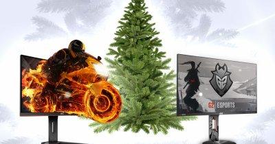 Fă un gamer fericit: cumpără-i un monitor AOC din seria G1