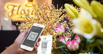Acum e mai simplu să cumperi flori, prin aplicația mobilPay Wallet