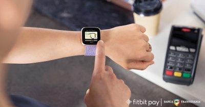 Fitbit Pay, disponibil pentru clienții Banca Transilvania