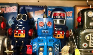 Robotul de 1 milion de dolari vine la Bucureşti