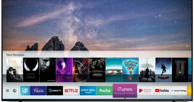 Mișcare surpriză: iTunes și AirPlay 2, disponibile pe TV-uri Samsung