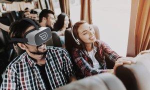 Călătorie reală cu experiență virtuală