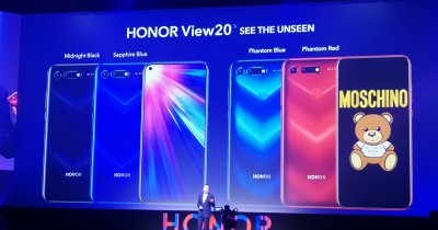Honor View20, lansat oficial pe piața din Europa