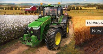 Hagi al tractoriștilor virtuali. Farming Simulator devine sport