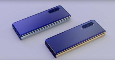 Samsung Galaxy Fold - primele imagini video detaliate cu pliabilul