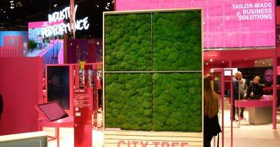 City Tree e viziunea Deutsche Telekom pentru orașe smart fără poluare