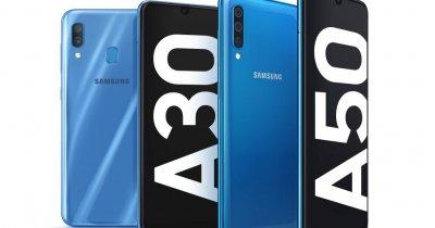 MWC 2019: Samsung Galaxy A50 - mid range cu amprentă în ecran