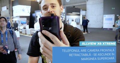 [VIDEO] Allview X6 Xtreme: cameră retractabilă și amprentă în ecran