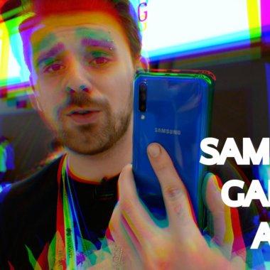 [VIDEO] Samsung Galaxy A50, viitorul telefon pentru tot poporul