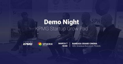 Cele mai bune startups din KPMG Startup Grow Pad își prezintă produsele