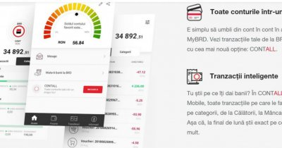 Top Up în aplicația BRD. Transfer în timp real de la alte bănci