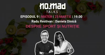 NO.MAD Talks: disciplina sportivului în viața de freelancer