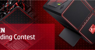 HP România te provoacă să faci noul design pentru desktop-ul OMEN X