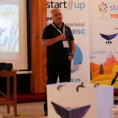 Felix Pătrășcanu, fondatorul FAN Courier, speaker la Startup Your Life