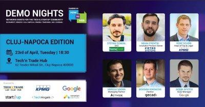 Demo Nights Cluj-Napoca. 30% din startup-uri ajung să ia investiție