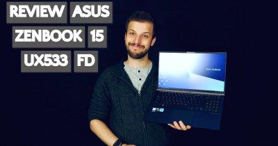 Asus Zenbook 15 UX533FD - un corp mic pentru un ecran mare