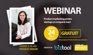 BizTool.ro: webinar gratuit de product marketing pentru startups