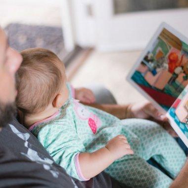 O aplicație Telekom ajută părinții plecați să spună copiilor povești