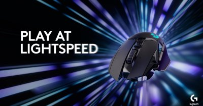 Logitech G502 LIGHTSPEED e un mouse wireless de gaming performant