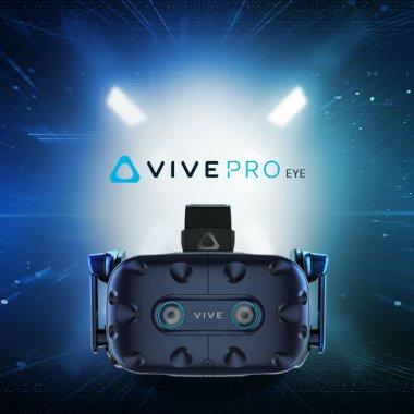 Vive Pro Eye, disponibil oficial în Europa. VR cu urmărirea privirii