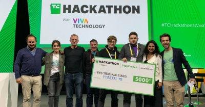 Startup cofondat de un român, câștigător la TechCrunch Hackathon