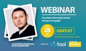 BizTool.ro: webinar gratuit de securitate cibernetică pentru startups