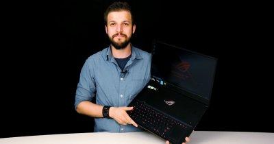 Review Asus ROG Zephyrus S GX701: un monstru blând pentru gaming