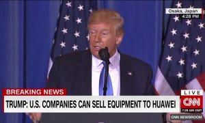 Donald Trump: Firmele americane pot vinde iar către Huawei