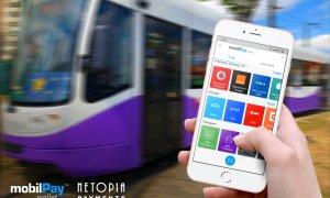Transportul în comun se poate plăti prin telefon la Timișoara