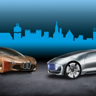 BMW și Daimler vor să aducă pe stradă mașini fără șofer până în 2024