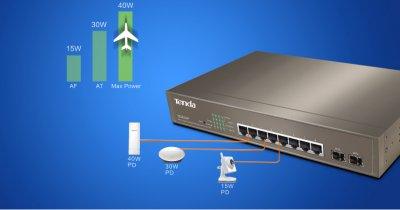 Noile switch-uri Tenda sunt gândite special pentru IMM-uri