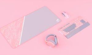 ASUS a lansat în România o gamă de periferice roz, dar și alte produse
