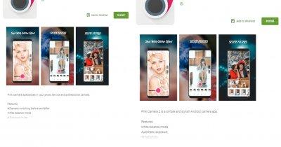 Malware pentru furat bani, în aplicații de editare foto din Google Play