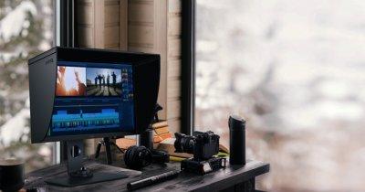 Benq, nou monitor pentru fotografii profesioniști