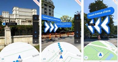 Google Maps te ghidează pe stradă cu ajutorul realității augmentate