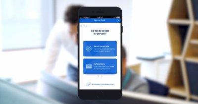 BCR promite credite online prin George. Primul test, efectuat