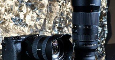 Sony lansează două noi camere pentru pasionații de fotografie și video