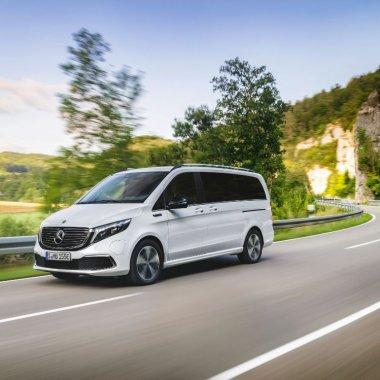 Mercedes-Benz lansează dubița electrică pentru companii și familie