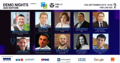 How to Web 2019: Demo Nights în fața experților la Iași