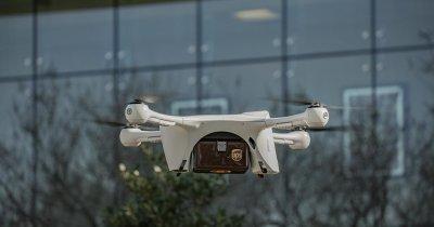 UPS vrea să facă livrări cu dronele
