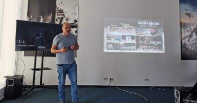 Peste 200 de români au contribuit la dezvoltarea jocului Ghost Recon