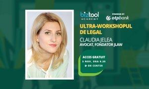 BizTool Academy, ultra-workshop gratuit: aspecte contractuale de bază