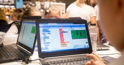 Copiii sunt invitați să creeze jocuri la concursul SuperCoders