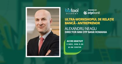 BizTool Academy, ultra-workshop gratuit: relația antreprenor-bancă