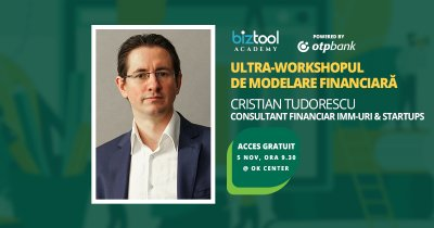 BizTool Academy, ultra-workshop gratuit: modelare financiară